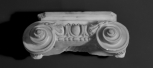 IONIC PILASTER OR ENGAGED COLUMN CAPITAL