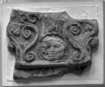 Fragment of a Roman tile-end or antefix