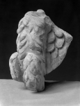 Fragment of the body and left wing of an eagle, part of the base of a Roman altar or a decorative element from a piece of Roman furniture