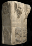 Section of a statue of the Artemis Ephesia (also sometimes called the Ephesian Artemis / Ephesian Diana)