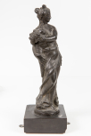 Statuette of the Goddess Flora (the Roman Goddess of flowers and symbolic of the Spring), Venetian, 16th or 17th Century.